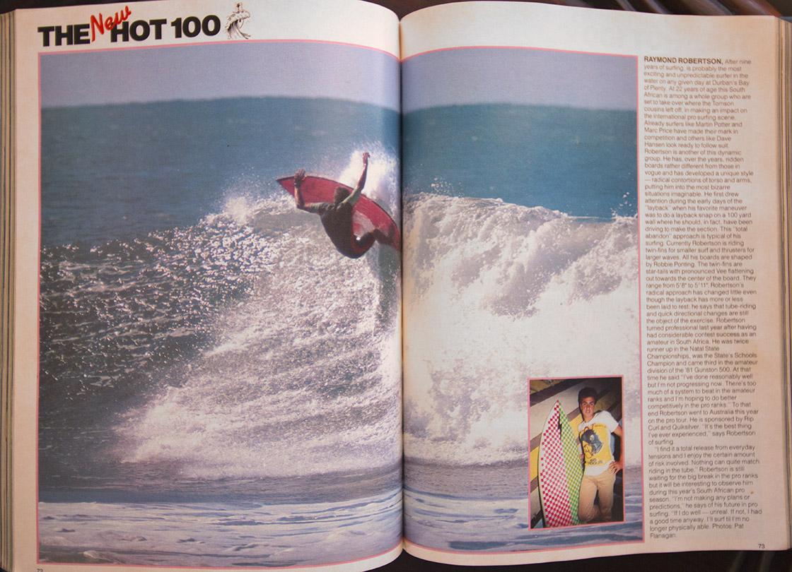 Raymond Roberts Hot 100